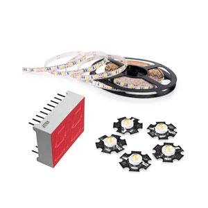 LED komponentit