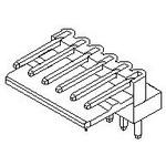 MOLEX ELECTRONICS 22-05-1102 2.5MM 10CKT R/A WAFER ASY 504610A