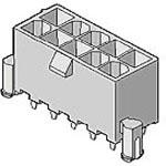 MOLEX ELECTRONICS 39-30-6067 Mini-Fit Jr. 6 Ckt V-2 w/ Drain&Pegs