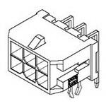 MOLEX ELECTRONICS 43045-0201 MicroFit 3.0 RA Hdr W/TH DR 15Au 2Ckt