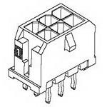 MOLEX ELECTRONICS 43045-0413 Microfit 3.0 Vert Thrhole DR 15Au 4 Ckt