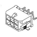 MOLEX ELECTRONICS 43045-1609 Microfit 3.0 RA SMT/Nail DR Tin 16 Ckt