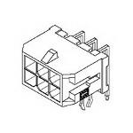 MOLEX ELECTRONICS 43045-2421 Microfit 3.0 RA PTH w/clip DR Tin 24 Ckt