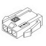 MOLEX ELECTRONICS 43640-0201 MicroFit 3.0 Plug SR Pnl Mnt 2Ckt