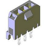 MOLEX ELECTRONICS 43650-0516 MicroFit 30 SR Vert TH Peg 15Au 5Ckt