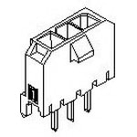MOLEX ELECTRONICS 43650-0627 MicroFit 3.0 SR Vert TH Peg Tin 6Ckt