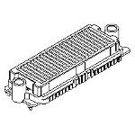 MOLEX ELECTRONICS 45802-0011 HDMez Rect Ass2 Std 08mm 143Ckt