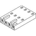 MOLEX ELECTRONICS 50-57-9214 SL Crp Hsg C SR Frnt Rbs 14Ckt