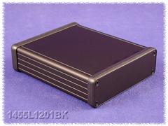 ALUMIINIKOTELO 123x103x30,5mm musta