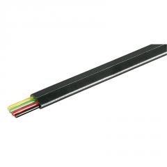 YES TEL604MU - MODULAR CABLE 4-POLE BLACK 100m