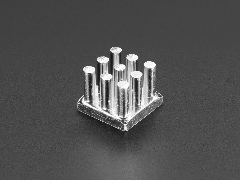 Aluminum SMT Heat Sink - 12.5 x 12.