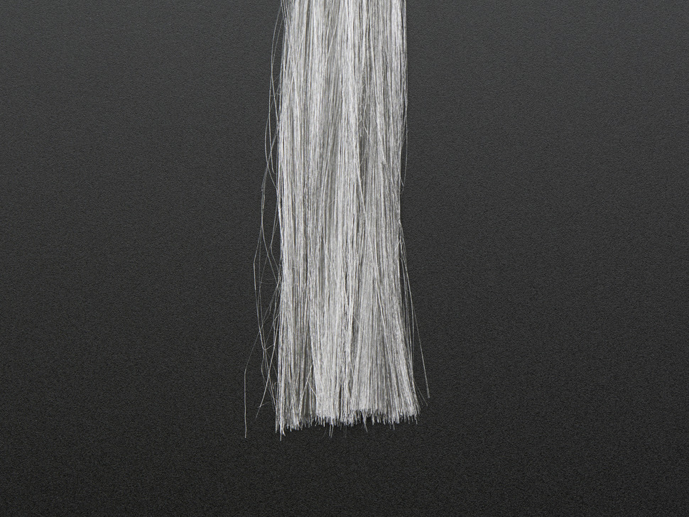 Conductive Fiber - Stainless Steel