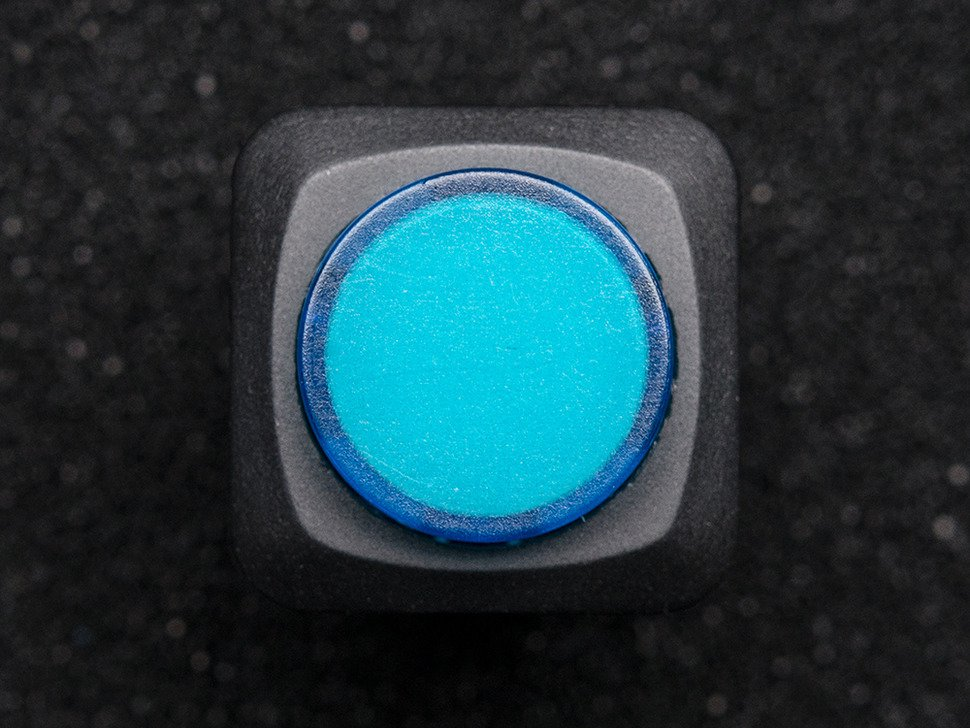 16mm Illuminated Pushbutton - Blue