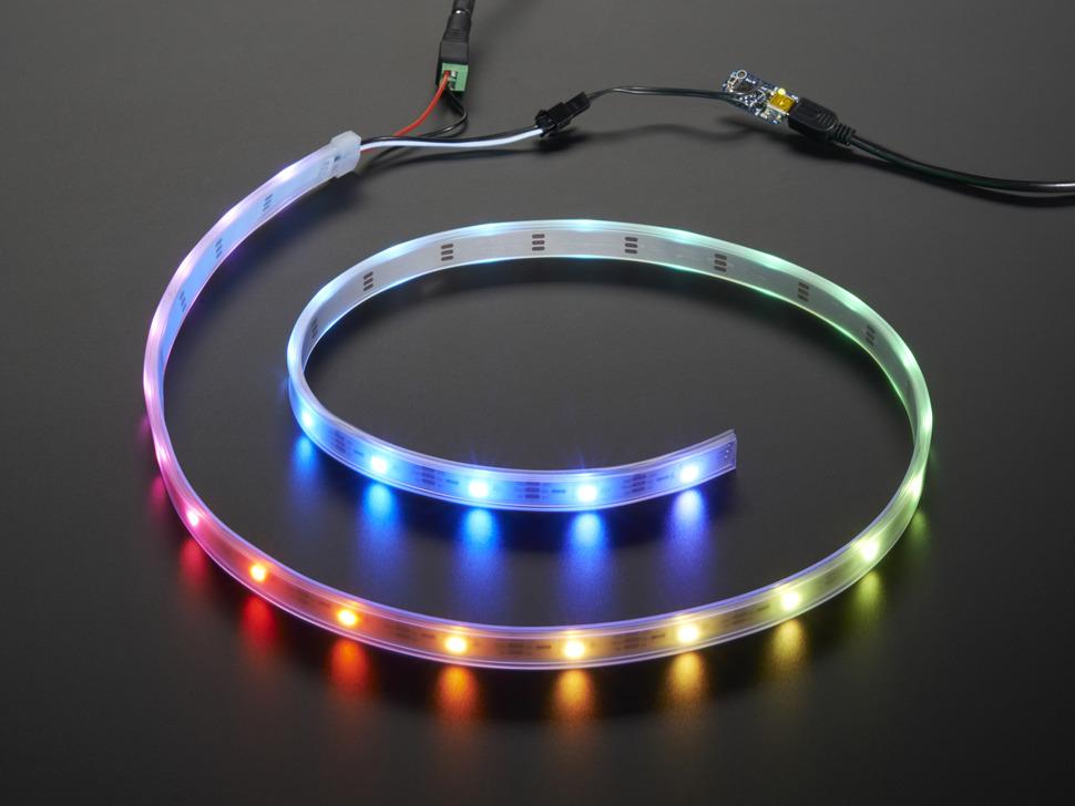Adafruit NeoPixel LED Strip Starter