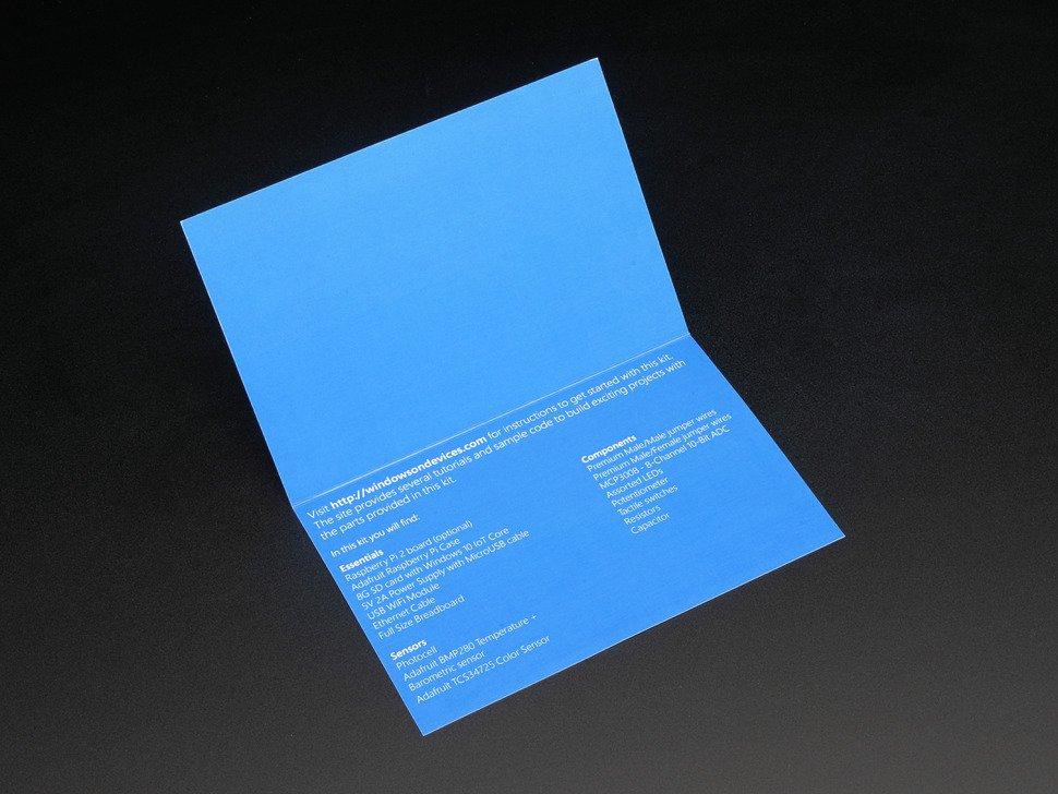 ADAFRUIT ADA2702 - Microsoft IoT Pack for Raspberry Pi