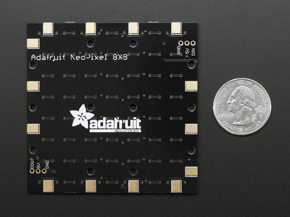 Adafruit NeoPixel NeoMatrix - 64 RG
