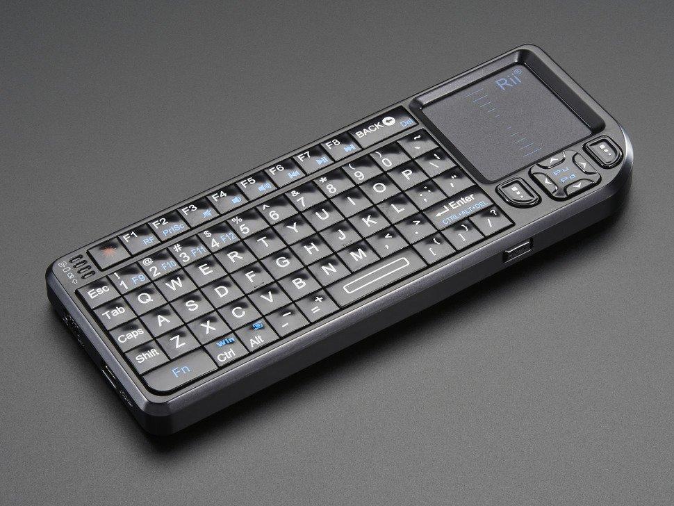 Miniature Wireless USB Keyboard wit