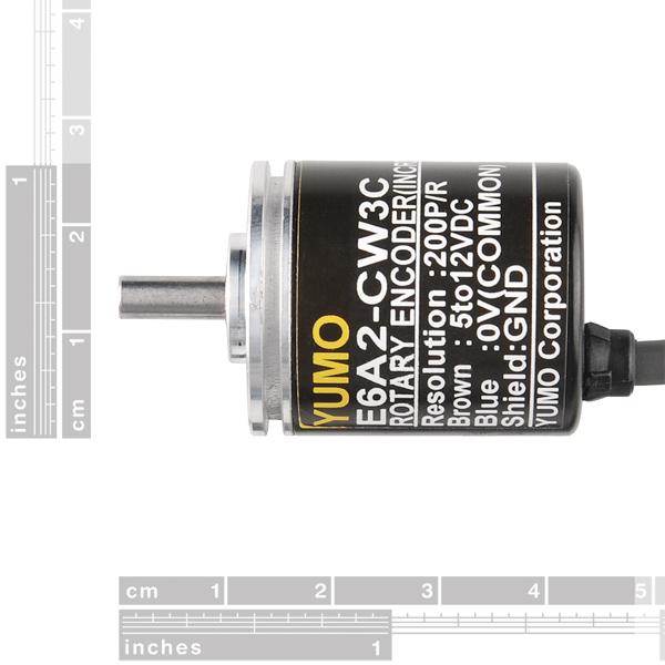 Rotary Encoder - 200 P/R (Quadratur