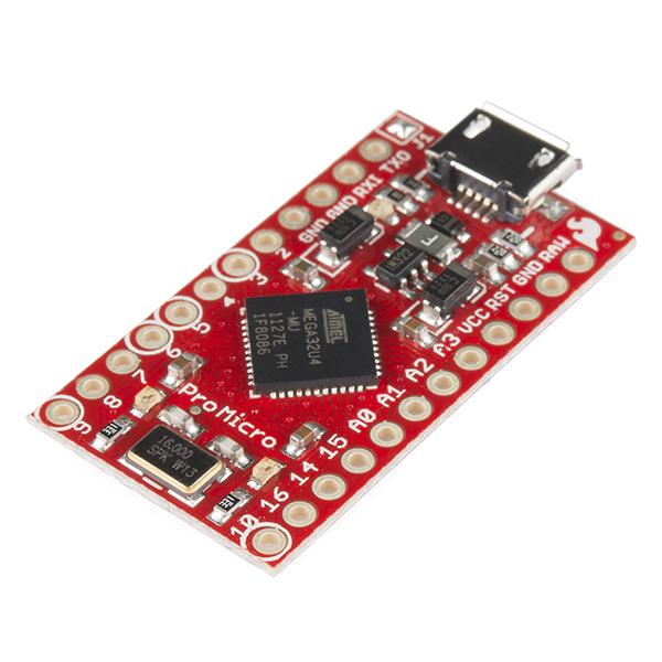 SparkFun Electronics DEV-12640 - Pro Micro - 5V/16MHz