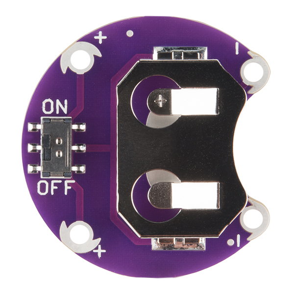 LilyPad Coin Cell Battery Holder -