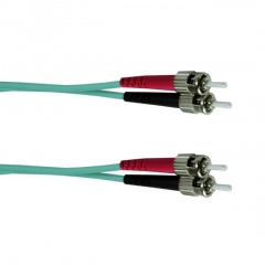 OPTRONICS STST-OM3-1M - PATCH CABLE DUPLEX ST/ST MM/OM3 1m