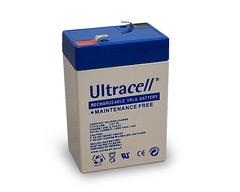 ULTRACELL UL2.8-6 - Lyijyakku 6V 2,8Ah 4-5 vuotta
