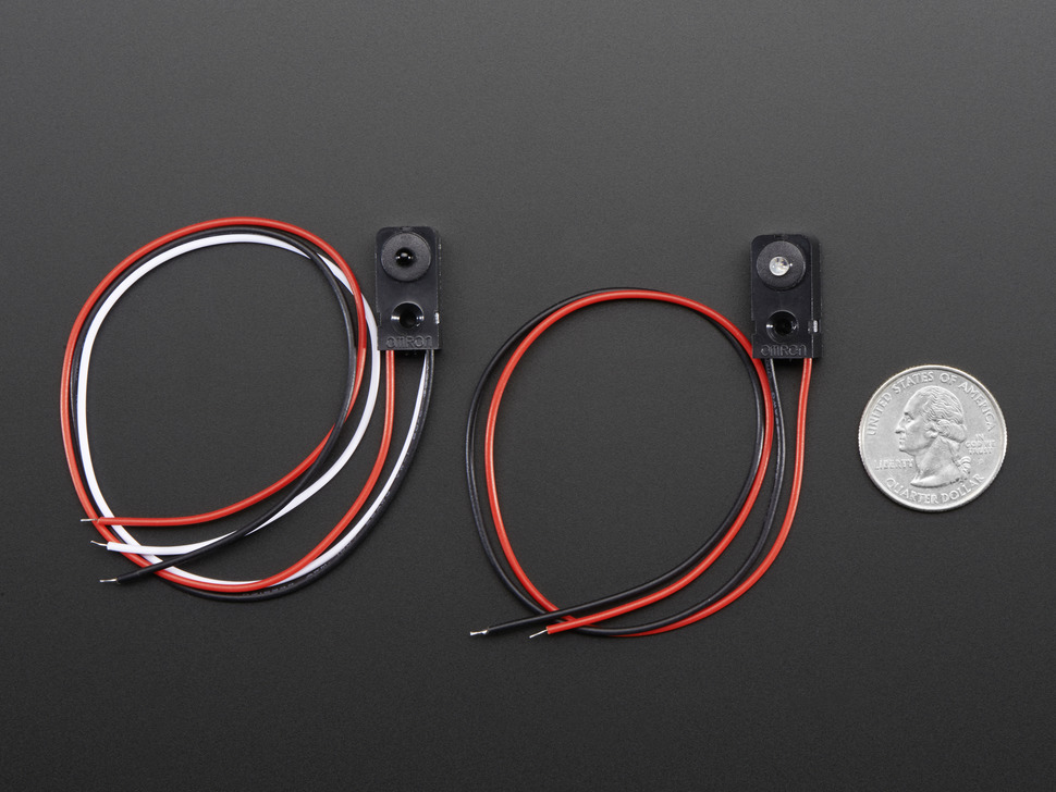 IR Break Beam Sensor - 3mm LEDs