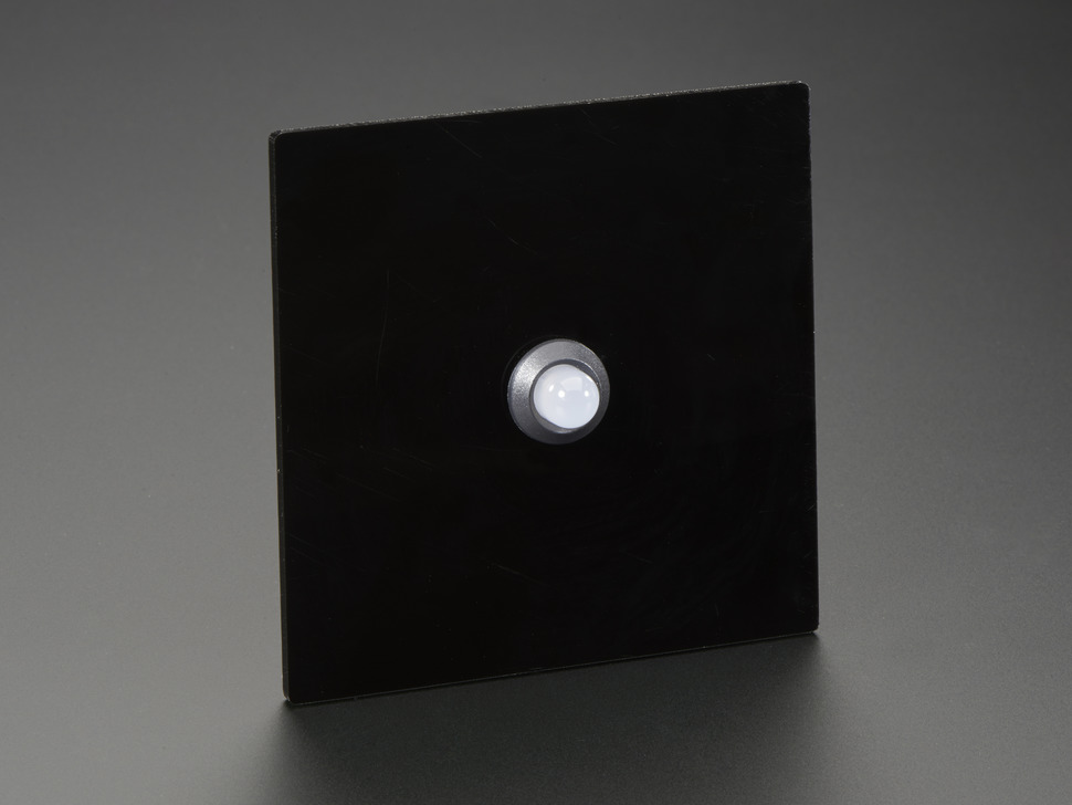ADAFRUIT ADA2172 - 8mm Plastic Bevel LED Holder - Pack