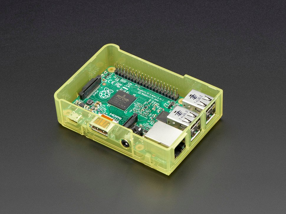 ADAFRUIT ADA2249 - Pi Model B+ / Pi 2 Case Base - Yell