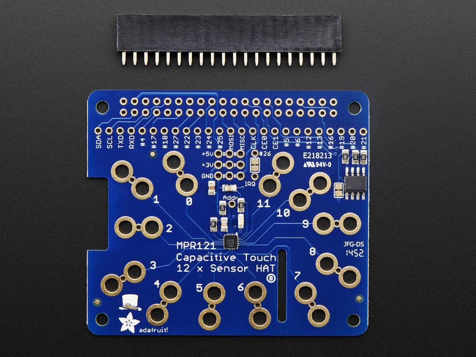 ADAFRUIT ADA2340 - Capacitive Touch HAT for R