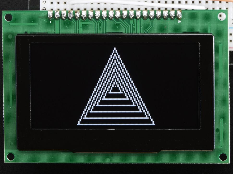 Monochrome 2.7 128x64 OLED Graphic