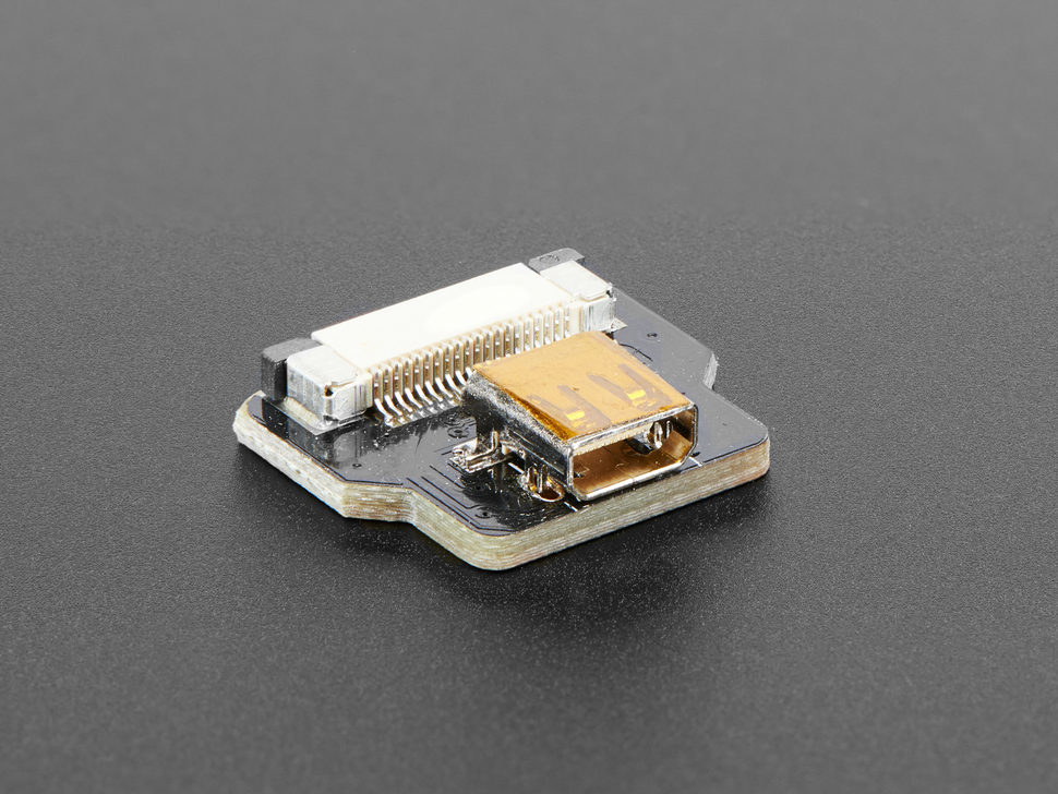 DIY HDMI Cable Parts - Straight Mic