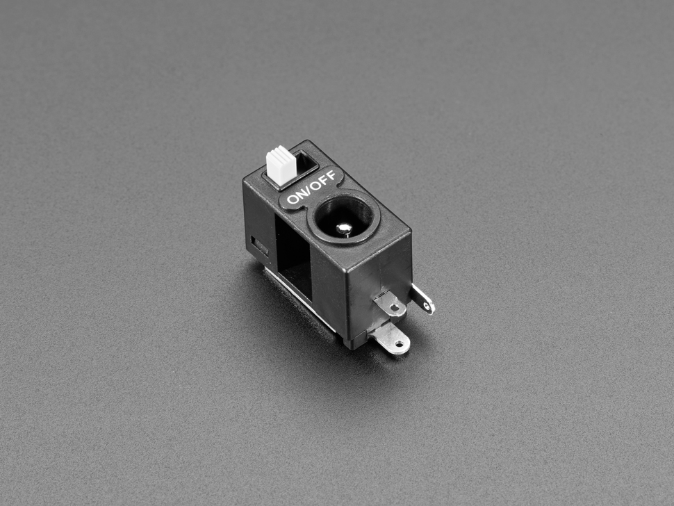 2.1mm DC Power Jack with Slide Swit