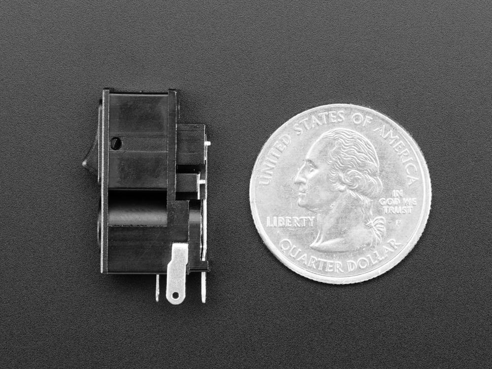 2.1mm DC Power Jack with Rocker Swi