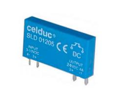 CELDUC SLD03210 - 2.5A 60VDC INPUT 18-32VDC CNTRL