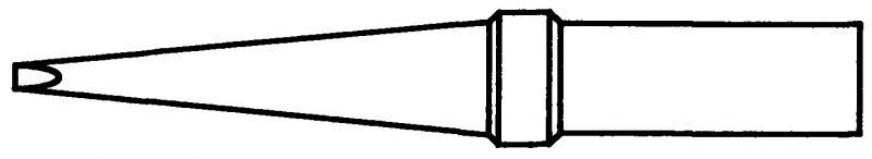 WELLER ET-KL - VARATERÄ WEP70 PITKÄ 1,2x0,8x43,5mm