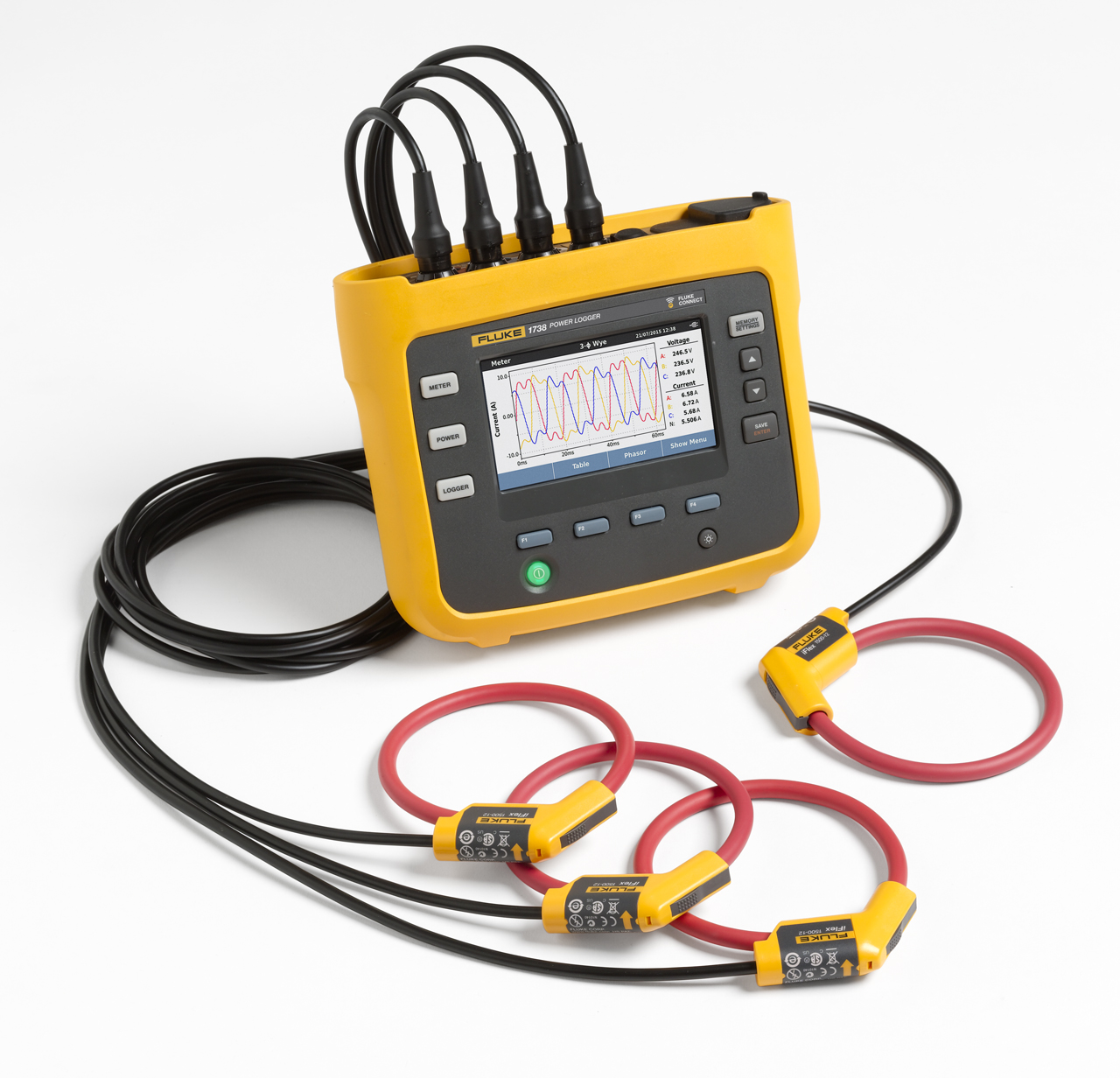 FLUKE 1738 - THREE-PHASE POWER LOGGER ADVANCED