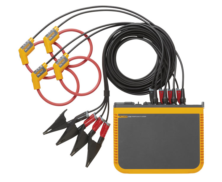 FLUKE 1742/30 - POWER QUALITY LOGGER W/3000A IFLEX