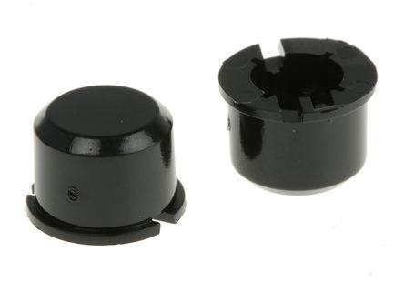 APEM 1D09 - CAP BLACK MEC 3F SERIE