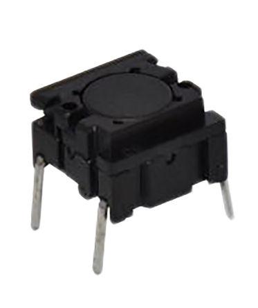 APEM 3ATH9 - IP67 BLACK FLAT BUTTON TACT SWITCH