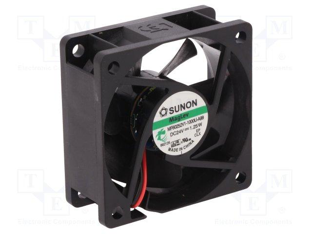 SUNON MF60252V1-A99-A - TUULETIN 60x25mm 24VDC VAPO