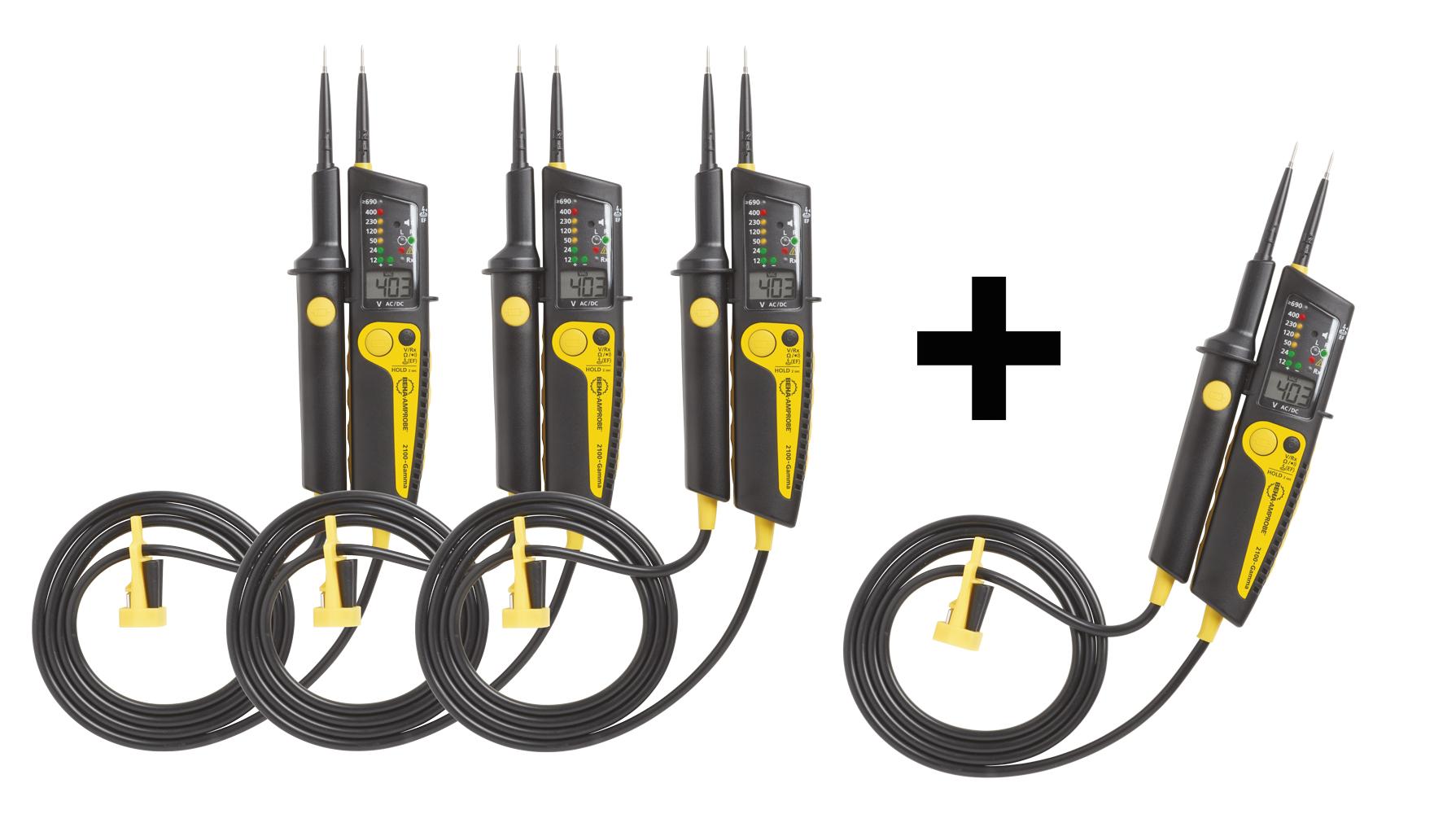 Jännitekoetin LCD/LED 1000V kit