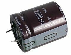 NCC 1200UF200KMMFPE - 35X35 R10 105C 2.65A