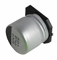 NCC 100UF6.3MZAF61E - ELECTROLYTIC CAP. 100UF6,3V