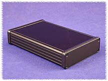 HAMMOND 1455L1601BK - ALUMIINIKOTELO 160x103x30,5mm