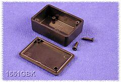HAMMOND 1551KBK - ABS-Plastic enclosure 80x40x17mm BLACK