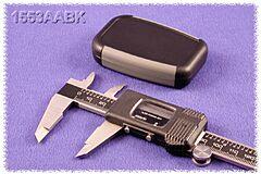 HAMMOND 1553AABK - ABS-Plastic enclosure 75x50x17mm BLACK/GREY