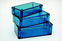 HAMMOND 1591DTBU - Polykarbonaattikotelo 150x80x46mm, Jäänsininen