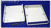 HAMMOND 1598BBGY - Plastic / aluminium Instrument Enclosure 179x154x36mm Gray
