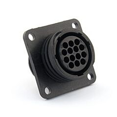 TE 182641-1 - AMP CPC 17 - 14 Pin Female Panel Connector Reverse Type